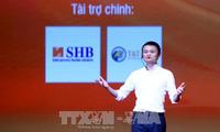 Tỷ phú Jack Ma giao lưu 4000 sinh viên, thanh niên