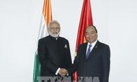Việt Nam và Ấn Độ thúc đẩy hợp tác song phương