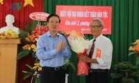 Ông Võ Văn Thưởng dự Ngày hội Đại đoàn kết toàn dân tộc với nhân dân tại  Đồng  Nai