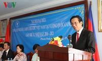 Đại hội Hội người Campuchia gốc Việt Nam tại tỉnh Mondokiri lần thứ nhất