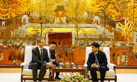 Lãnh đạo thành phố Hà Nội tiếp đoàn Hiệp hội doanh nghiệp Đức tại châu Á - Thái Bình Dương