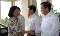 Phó Chủ tịch nước Đặng Thị Ngọc Thịnh làm việc tại tỉnh Hậu Giang