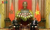 Tăng cường mối quan hệ truyền thống Việt Nam và Ma-rốc