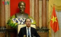 Báo Nhật Bản đưa tin về chuyến thăm của Chủ tịch nước Trần Đại Quang tới Nhật Bản