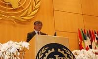 เวียดนามแลกเปลี่ยนประสบการณ์ในการส่งเสริมงานทำอย่างยั่งยืน ณ ฟอรั่ม ILO