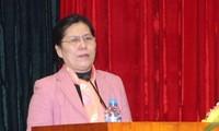 สหพันธ์สตรีเวียดนามปฏิบัติรัฐธรรมนูญ