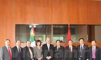 คณะกรรมาธิการวิเทศสัมพันธ์แห่งรัฐสภาเวียดนามเยือนเม็กซิโกและโคลัมเบีย