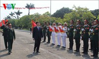 ท่านเจืองเติ๊นซาง ประธานประเทศเข้าร่วมพิธีฉลองครบรอบ 70 ปีการก่อตั้งโรงเรียนทหารบกหมายเลข 1
