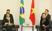 รองประธานประเทศเหงียนถิ่ยวานเข้าเยี่ยมคารวะประธานาธิบดีบราซิล