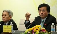การแถลงข่าวต่อสื่อมวลชนผลการประชุมครั้งที่ 9 รัฐสภาเวียดนามสมัยที่ 13