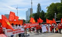 ประชามติโลกประท้วงการที่จีนได้เปลี่ยนสภาพเดิมของทะเลตะวันออก