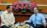ขยายการประสานงานระหว่างแนวร่วมปิตุภูมิเวียดนามและลาว