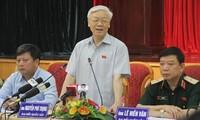 ผู้มีสิทธิ์เลือกตั้งกรุงฮานอยชื่นชมการเยือนสหรัฐของเลขาธิการใหญ่เหงียนฟู้จ่อง