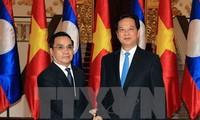 นายกรัฐมนตรีลาวเสร็จสิ้นการเยือนเวียดนามอย่างเป็นทางการ