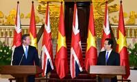 แถลงการณ์ร่วมเวียดนามกับสหราชอาณาจักร