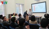 การสัมมนาทางวิชาการของนักศึกษาเวียดนามในสาธารณรัฐเช็ก