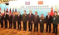 การพบปะอย่างไม่เป็นทางการระหว่างรัฐมนตรีกระทรวงกลาโหมจีนกับอาเซียน