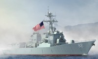 เรือรบสหรัฐเข้าบริเวณเกาะเทียมที่จีนก่อสร้างผิดกฎหมายในทะเลตะวันออก
