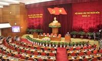 ประชาชนแสดงความเชื่อมั่นต่อความสำเร็จของการประชุมสมัชชาใหญ่พรรคคอมมิวนิสต์เวียดนามสมัยที่12