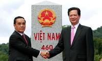 เสร็จสิ้นโครงการเพิ่มความถี่และปรับปรุงระบบหลักพรมแดนเวียดนาม-ลาว
