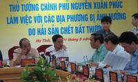 นายกรัฐมนตรีสั่งลงโทษผู้ที่เป็นเหตุทำให้เกิดปลาตายจำนวนมากในภาคกลาง