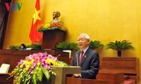 การประชุมรัฐสภาสมัยที่ 14 จะสร้างนิมิตรหมายต่อกระบวนการพัฒนาของรัฐสภาเวียดนาม