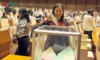 รัฐสภาลงคะแนนเลือกประธานสภาชาติพันธุ์และหัวหน้าคณะกรรมาธิการต่างๆ
