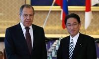 รัฐมนตรีต่างประเทศรัสเซียและญี่ปุ่นหารือเกี่ยวกับการทดลองนิวเคลียร์ของเปียงยาง