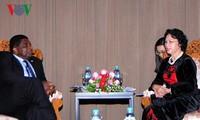 ประธานรัฐสภาเวียดนามให้การต้อนรับเลขาธิการใหญ่สหภาพรัฐสภาโลกหรือไอพียู