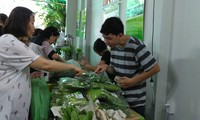 ไปตลาดนัดสินค้าการเกษตรในวันหยุดสุดสัปดาห์