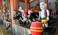 เอกลักษณ์วัฒนธรรมการเชิดหุ่นกระบอกน้ำในหมู่บ้านด่าวถูก อำเภอดงแอง กรุงฮานอย