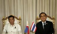 ไทยและฟิลิปปินส์ยืนยันต้องธำรงสันติภาพและเสถียรภาพในทะเลตะวันออก