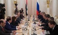 รัฐมนตรีต่างประเทศรัสเซีย อิหร่านและซีเรียเข้าร่วมการประชุมเกี่ยวกับซีเรีย