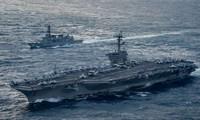 ญี่ปุ่นและสหรัฐวางแผนซ้อมรบร่วมในทะเลฮัวตุ้ง