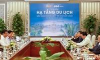 เวียดนามพัฒนาโครงสร้างพื้นฐานการท่องเที่ยว