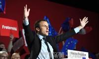 การเลือกตั้งประธานาธิบดีฝรั่งเศส เป็นการแข่งขันระหว่างตัวเต็งสองคน