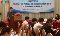 เวียดนามนับวันยิ่งค้ำประกันและส่งเสริมสิทธิด้านพลเรือนและการเมืองให้แก่พลเมือง