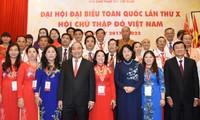นายกรัฐมนตรีเข้าร่วมการประชุมสมัชชาใหญ่ผู้แทนสภากาชาดเวียดนามครั้งที่ 10