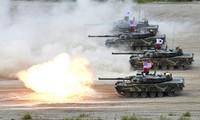สาธารณรัฐประชาธิปไตยประชาชนเกาหลีเตือนว่า จะตอบโต้การซ้อมรบสหรัฐ – สาธารณรัฐเกาหลี