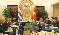การทาบทามความคิดเห็นทางการเมืองระดับรัฐมนตรีช่วยต่างประเทศคิวบา – เวียดนามครั้งที่ 4