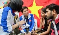 เอกลักษณ์วัฒนธรรมเวียดนามในงานมหกรรมเยาวชนและนักศึกษาโลก