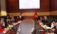 คณะกรรมการร่วมรัฐบาลเปรู – เวียดนามจัดการประชุมครั้งแรก