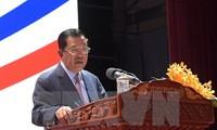 สมเด็จ ฮุนเซน นายกรัฐมนตรีกัมพูชานำคณะผู้แทนเข้าร่วมการประชุมผู้นำเอเปก 2017