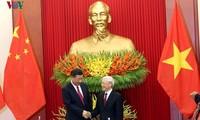 สื่อจีนเสนอข่าวต่างๆเกี่ยวกับการเยือนเวียดนามของประธานประเทศสีจิ้นผิง