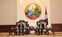 นายกรัฐมนตรีลาวชื่นชมความร่วมมือที่มีประสิทธิภาพระหว่างกระทรวงยุติธรรมเวียดนาม – ลาว