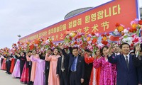 จีนเข้าร่วมเทศกาลแสดงศิลปะมิตรภาพฤดูใบไม้ผลิที่สาธารณรัฐประชาธิปไตยประชาชนเกาหลี