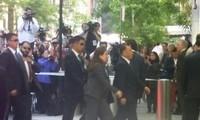 รัฐมนตรีต่างประเทศสหรัฐพบปะกับรองประธานคณะกรรมการส่วนกลางของพรรคแรงงานเกาหลี