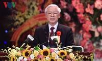 พิธีรำลึกครบรอบ 70 ปีวันประธานโฮจิมินห์ออกคำเรียกร้องแข่งขันรักชาติ
