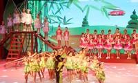 งานมหกรรมศิลปะของเด็กในภาคเหนือเวียดนามปี 2018