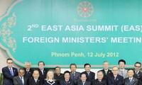 ภารกิจของรัฐมนตรีต่างประเทศเวียดนามในการประชุมรัฐมนตรีต่างประเทศEASและฟอรั่มภูมิภาคอาเซียน